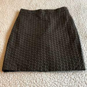 J Crew mini pencil skirt